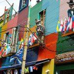 El Caminito Sokağı Arjantin