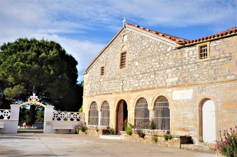 Gökçeada Zeytinlik Köyü Agios Georgios Kilisesi