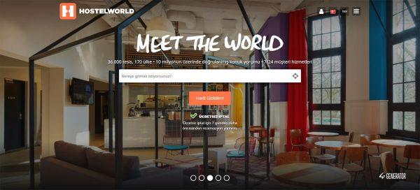 Yurtdışı hostel bulma