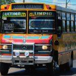 Paraguay Renkli Otobüsleri