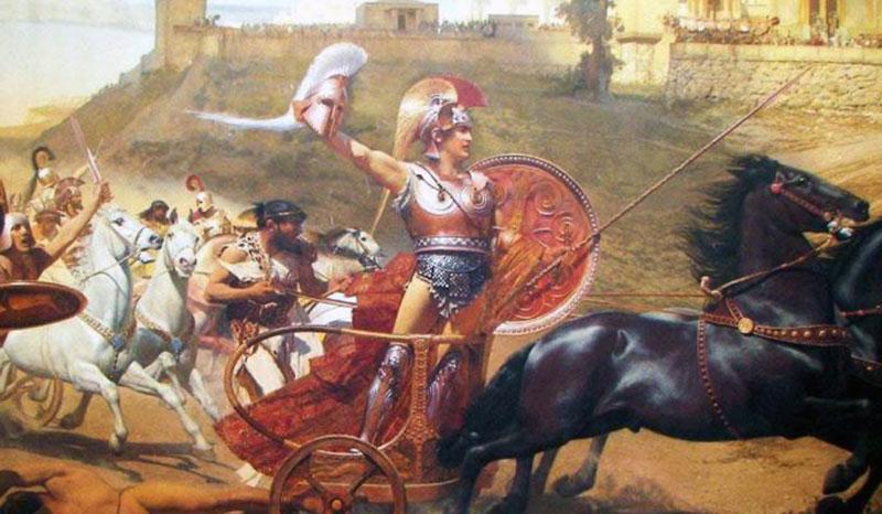 Akhilleus Ve Troya Savaşı