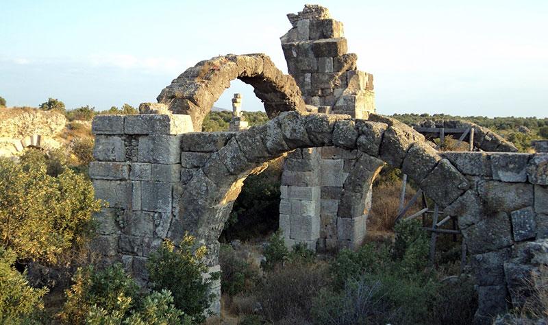 Çanakkale Alexandria Troas Antik Şehri