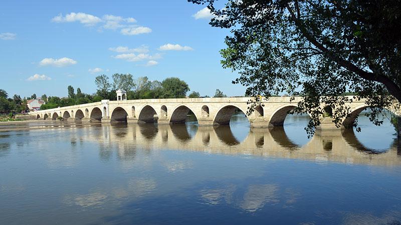 Meriç Nehri ve Meriç Köprüsü