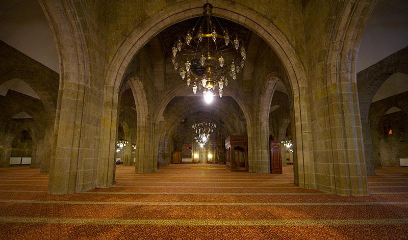Erzurum Ulu Cami İçi