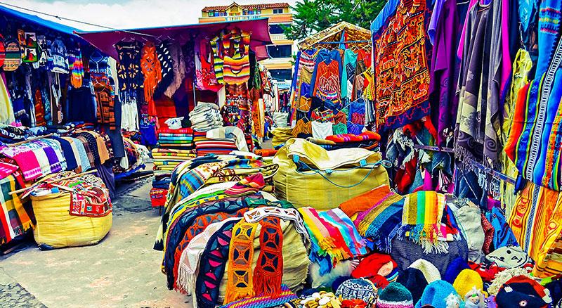 Otavalo Halk Pazarı