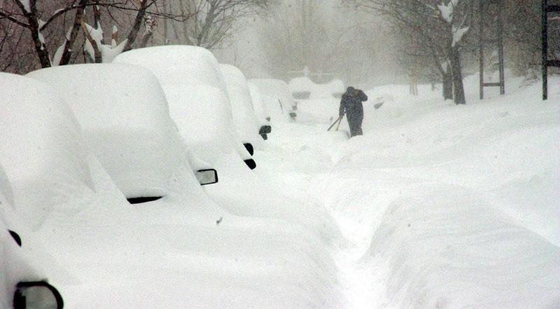 Erzurum Kış Fotoğrafları