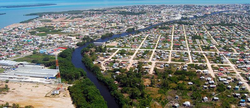 Belize Nerede