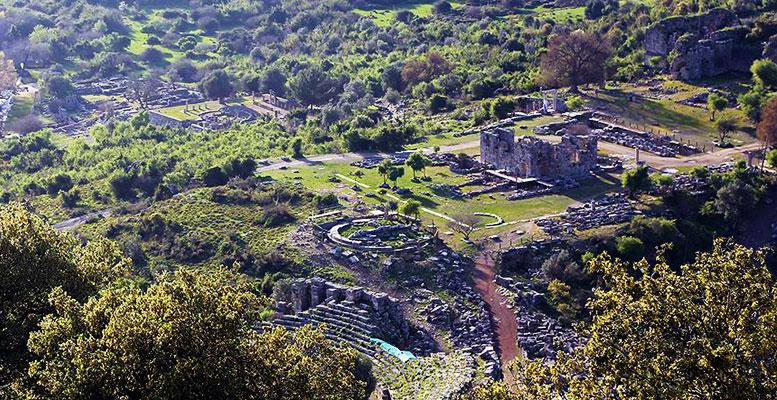 Kaunos Kral Mezarlığı