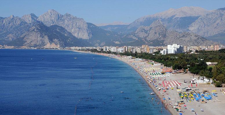 Antalya Denize Girilen Yerler