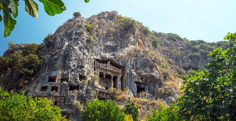 Fethiye Amintas Kaya Mezarları