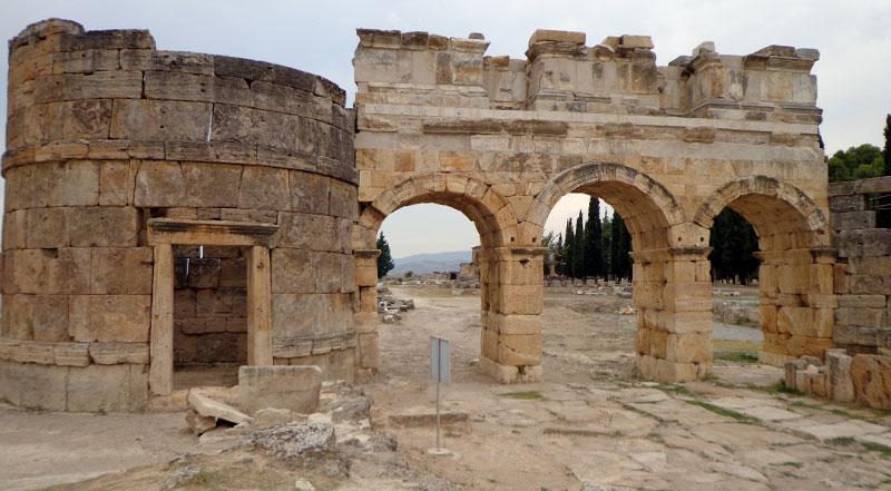 Denizli Pamukkale Hierapolis Antik Kenti