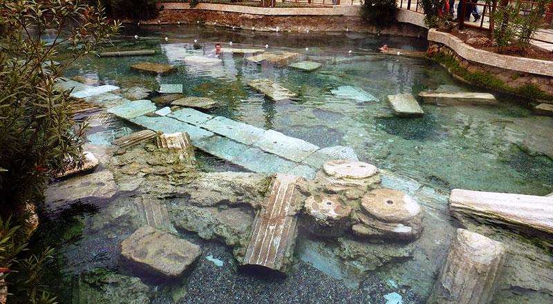 Antik Yüzme Havuzu Denizli Pamukkale