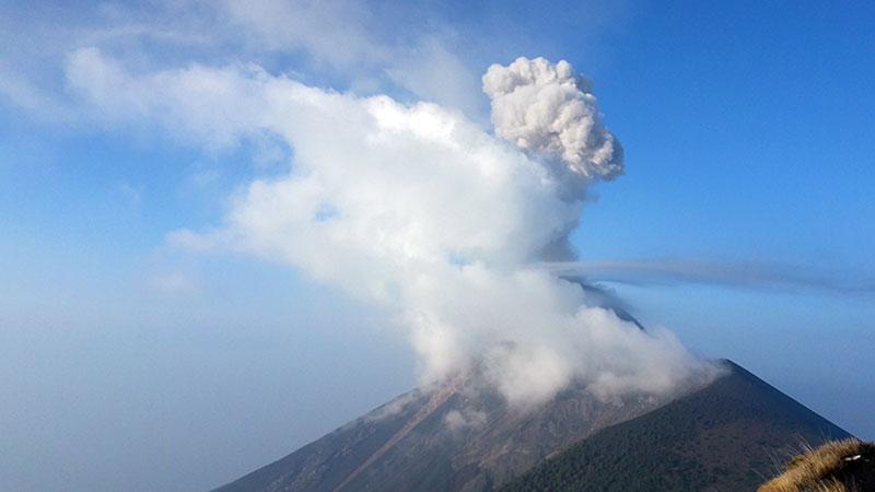 Guatemala Fuego Volkanı