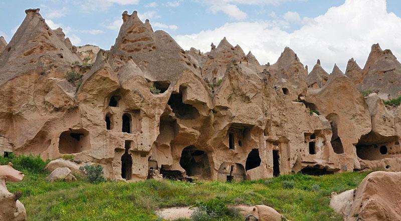 Kapadokya Zelve Vadisi