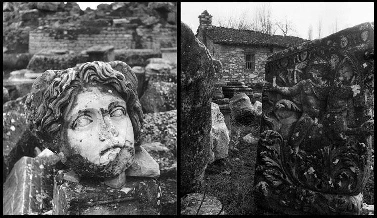 Afrodisias Siyah Beyaz Resimler