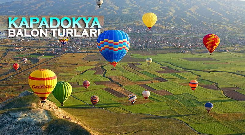 Kapadokya Sıcak Hava Balonu Gezisi