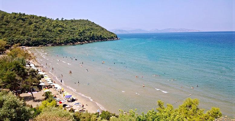 Kuşadası Güzelçamlı Plajı