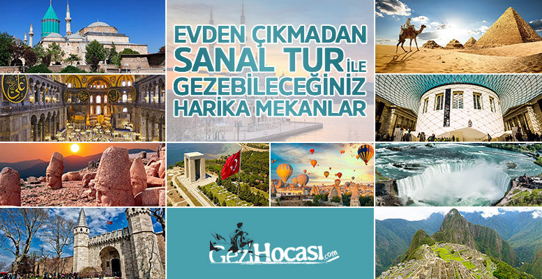 Ücretsiz 360 Sanal Tur Yerleri