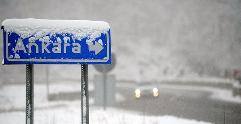 Ankara Kar Yağışı Kış