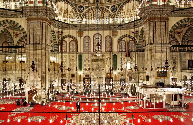 Fatih Cami İçi