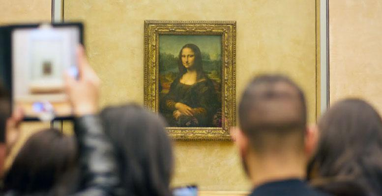 Louvre Müzesi Mona Lisa