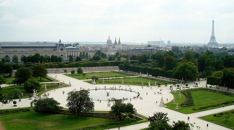 Paris En Güzel Parklar Bahçeler