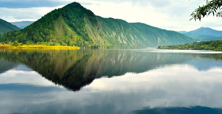 Yenisei Angara Selenga Ider Nehirleri