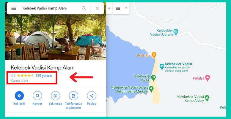 Google Haritalar Yorumlar
